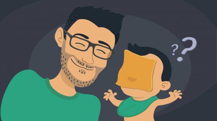 fromage au visage de bébé